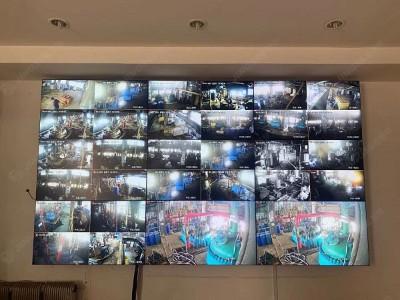 辽宁沈阳感光化工研究院46寸3.5mm3*3液晶拼接屏