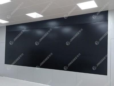 陕西西安高陵区龙凤园小区换热站55寸1.7mm 3*5液晶拼接屏