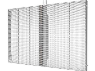 透明LED显示屏与玻璃幕墙的配合