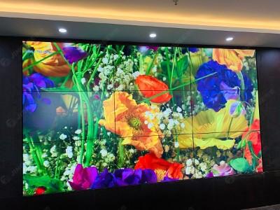 天津市大都会会议室55寸3.5mm 3*3液晶拼接屏