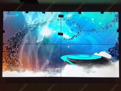 内蒙古包头王若飞纪念馆55寸3.5mm2*2液晶拼接屏