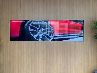 55寸液晶拼接屏电视墙的方式