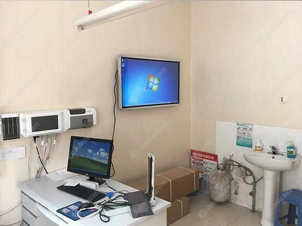 天津市河北区社区医院43寸触摸一体机