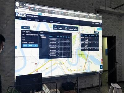 天津市北航通信网络工程有限公55寸0.88mm 3*3液晶拼接屏