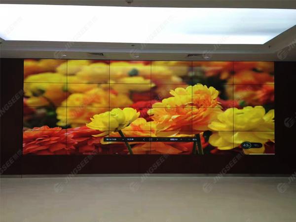 天津空港某企业,46拼接显示单元方案