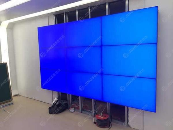 天津河西华夏未来46寸5.5mm3*3液晶拼接屏