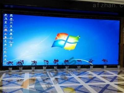 公司用led显示屏可以使用的安装方式