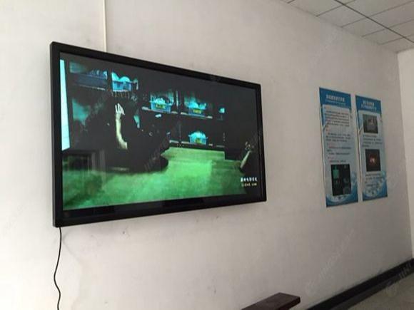 天津消防研究所55寸壁挂触摸一体机