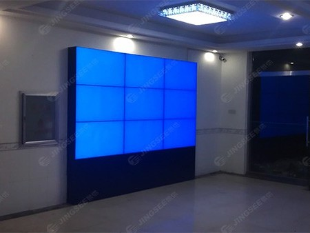 河北秦皇岛某海军基地46寸3*3超窄边液晶拼接系统