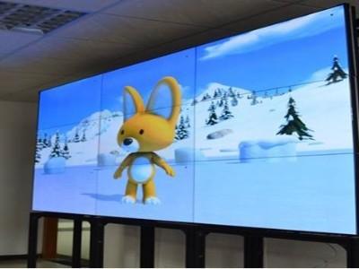 DLP无缝拼接大屏系统的自由拼接和高清性能