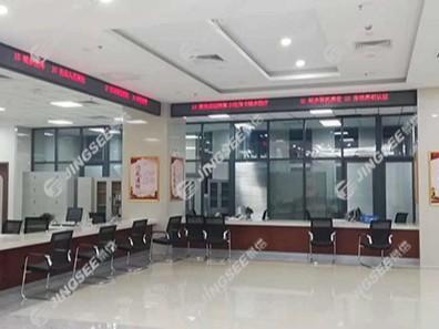 天津滨海新城社区P2.5 LED显示屏