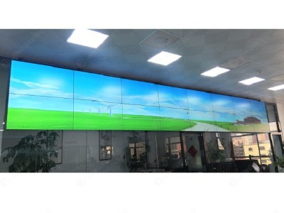 上海归藏贸易投资有限公司55寸3.5mm2*8液晶拼接屏