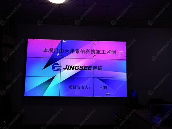20170930河北张家口液晶拼接屏