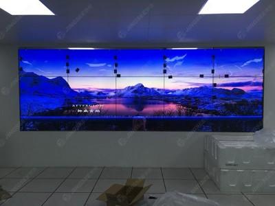 天津市国家电网培训中心46寸3.5mm  3*5液晶拼接屏