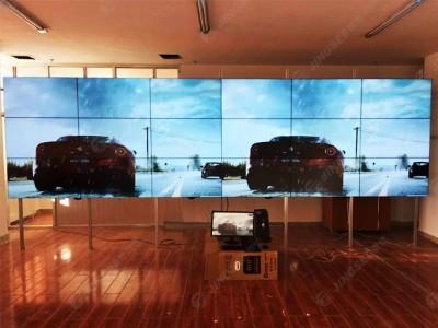 内蒙古鄂尔多斯行政大厅46寸3*6液晶拼接屏