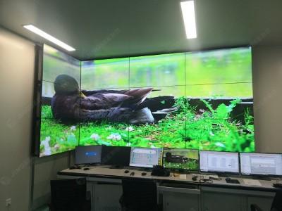 山西忻州中科晶电信息材料有限公司 55寸3.5mm 3*4液晶拼接屏