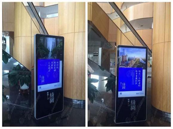 天津格调春天房地产55寸立式广告机
