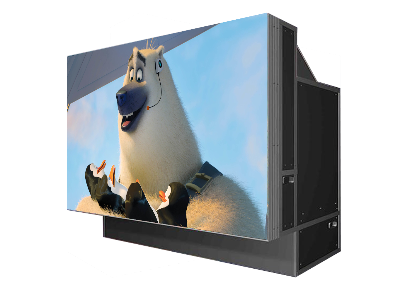 DLP无缝拼接屏使用遥控操作