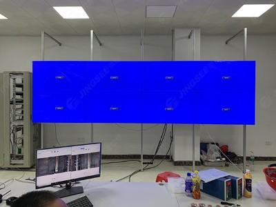 广西防城港盛隆发电现场55寸三星3.5mm2x4