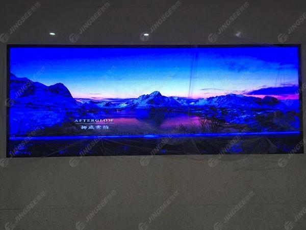 河北沧州献县规划馆P2.5 LED显示屏
