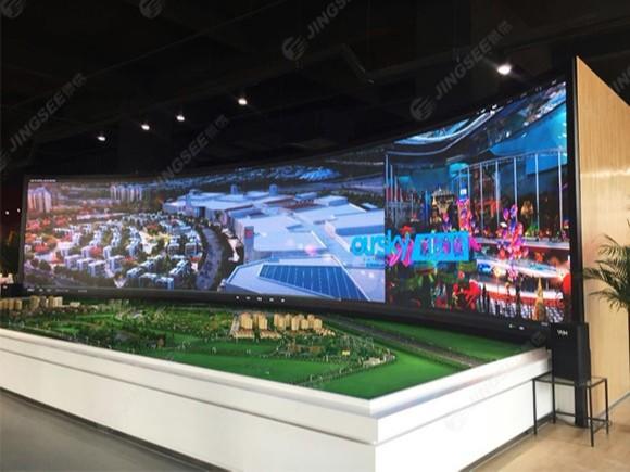 天津中国集海航城P2.5 LED显示屏