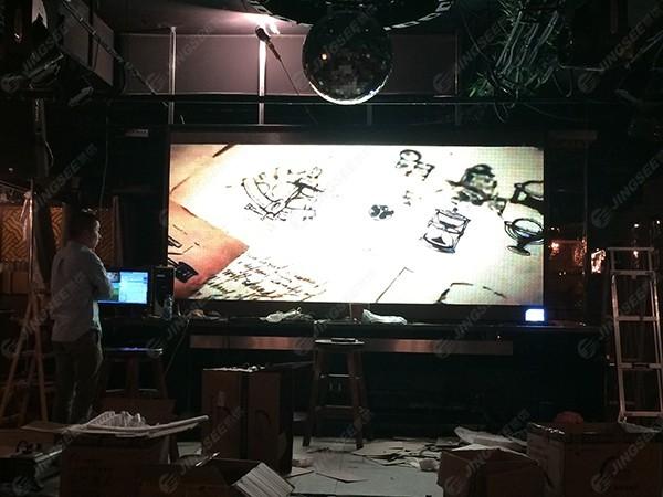 天津滨海第五大街P5 LED显示屏