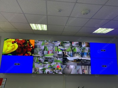 天津液晶拼接屏与电脑端链接形式