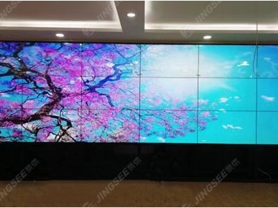 天津市武清水务局,55寸3*6拼缝1.7mm