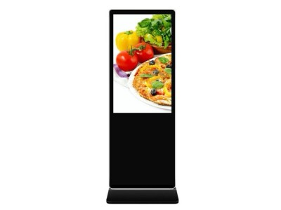 双屏落地式液晶广告机可以带来更好的效益