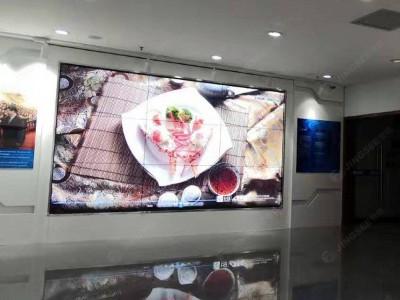 天津塘沽国家计算机中心55寸1.7mm 3*3液晶拼接屏